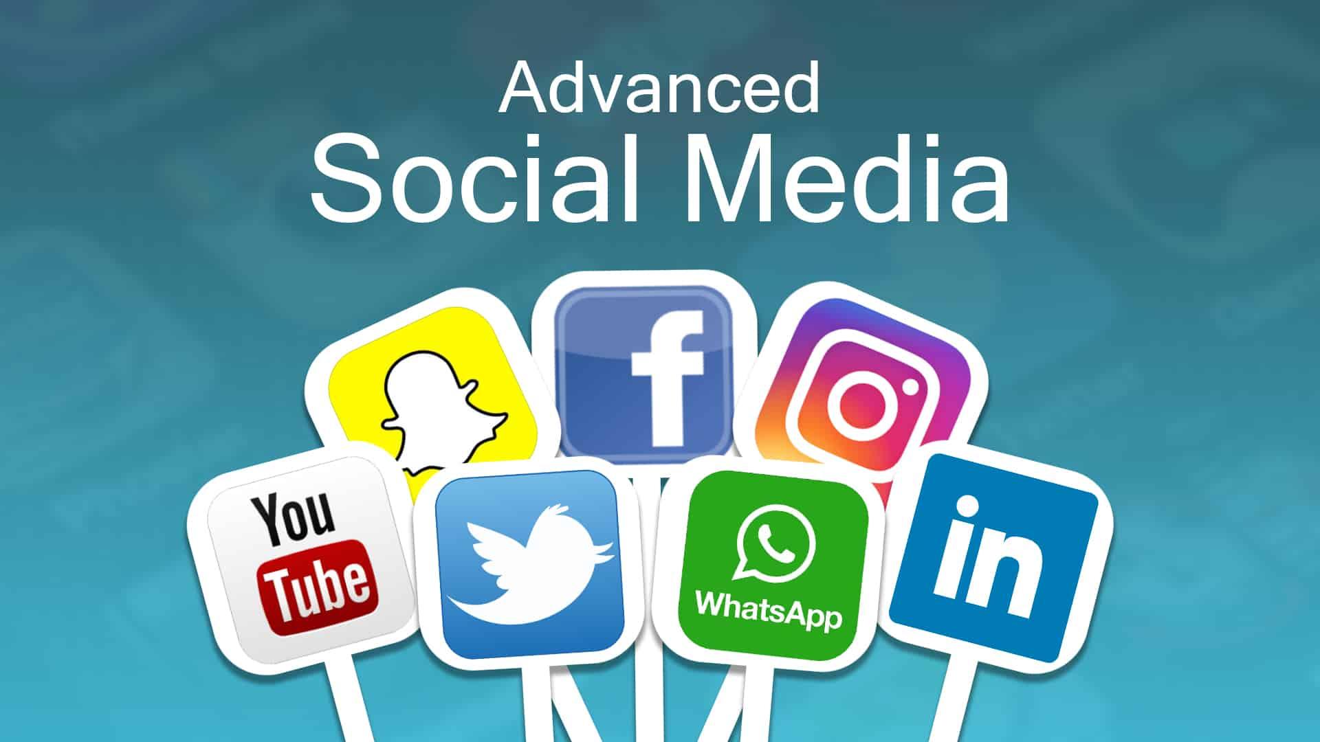 Advanced social media
